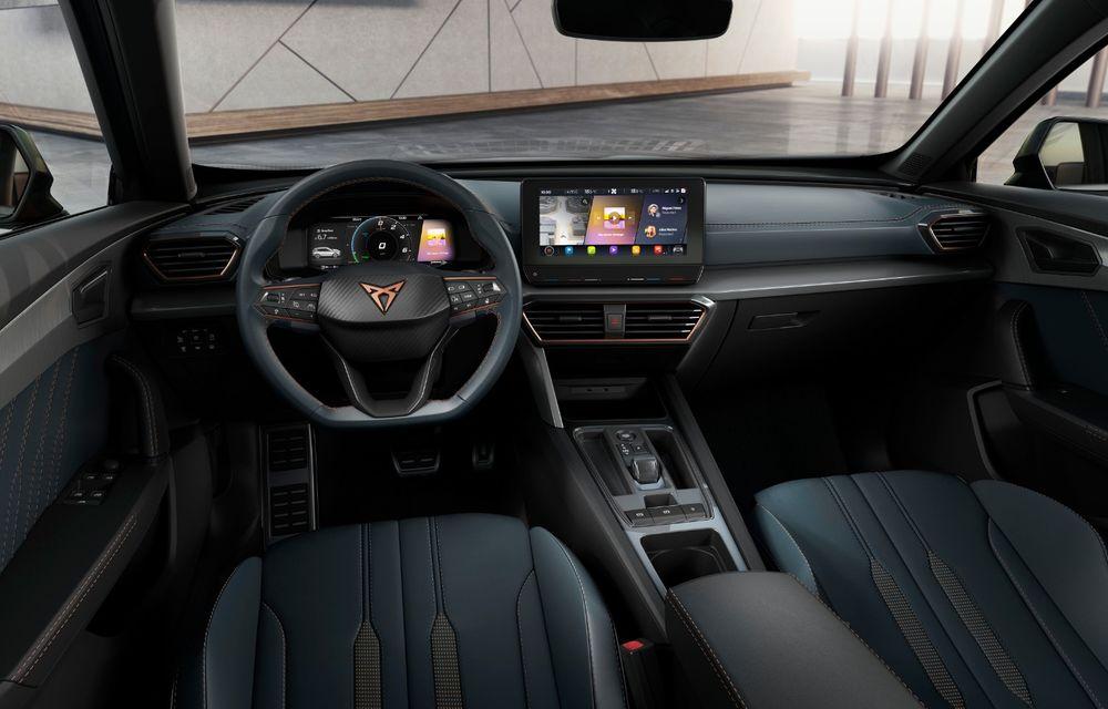 Cupra lansează conceptul Formentor: SUV-ul diviziei de performanță are un sistem de propulsie plug-in hybrid cu 245 CP - Poza 2