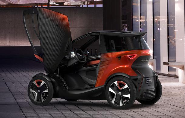 Rival pentru Renault Twizy: Seat Minimo este un concept de cvadriciclu electric cu autonomie de 100 de kilometri - Poza 2