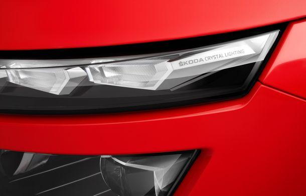 Skoda a prezentat noul Kamiq: motoare de până la 150 CP și sisteme moderne de siguranță pentru cel mai mic SUV din gama constructorului ceh - Poza 2