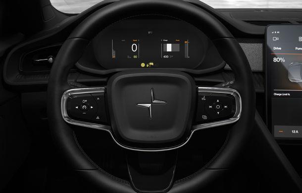 Rivalul lui Tesla Model 3 este aici: Polestar 2 are peste 400 de cai putere, autonomie de 500 de kilometri și costă 40.000 de euro - Poza 2
