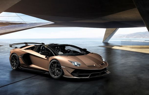 Lamborghini prezintă ediția specială SVJ Roadster: 800 de unități echipate cu motorul V12 de 770 CP - Poza 2