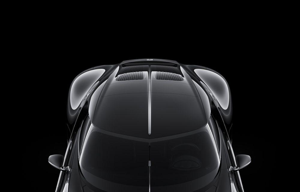 Bugatti prezintă unicatul La Voiture Noire: cea mai scumpă mașină nouă vândută în istorie - Poza 2