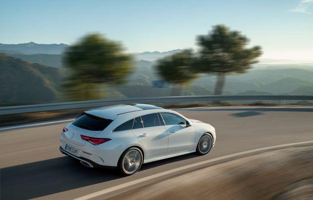 Noua generație Mercedes-Benz CLA Shooting Brake: design nou, dimensiuni mai generoase și tehnologii de siguranță preluate de pe Clasa S - Poza 2