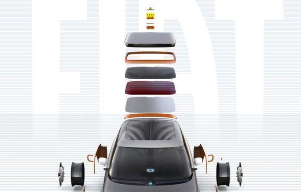 Viitorul Fiat Panda, anunțat de conceptul Fiat Centoventi. Cuvântul de ordine: personalizare - Poza 2