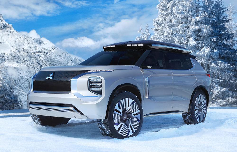 Mitsubishi Engelberg Tourer: conceptul anticipează viitoarele SUV-uri și sisteme plug-in hybrid ale japonezilor - Poza 2