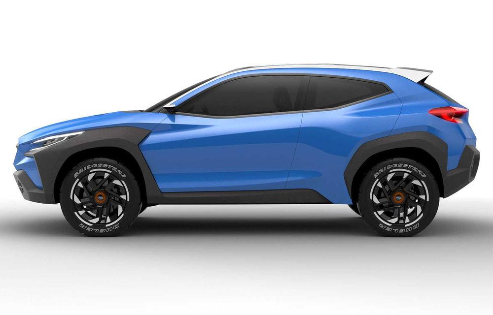 Subaru Viziv Adrenaline Concept, poze și detalii oficiale: prototipul niponilor anunță o evoluție a designului pentru viitoarele modele - Poza 2