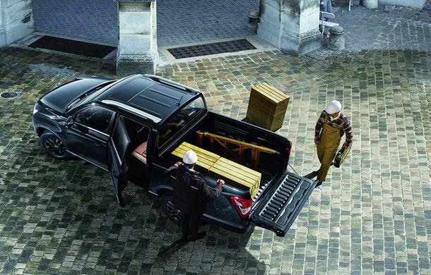 SsangYong Musso Grand: pick-up cu motor diesel de 181 cai putere și capacitate de încărcare de până la 1062 de kilograme - Poza 2