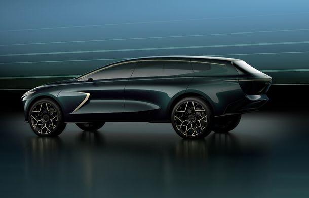Aston Martin All-Terrain Concept anunță un viitor SUV electric sub brandul Lagonda: autonomie de 650 de kilometri și producție programată în 2022 - Poza 2