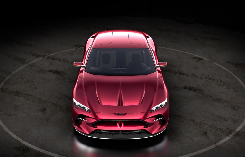 Italdesign DaVinci: italienii caută producător pentru acest concept al unui GT 100% electric - Poza 2