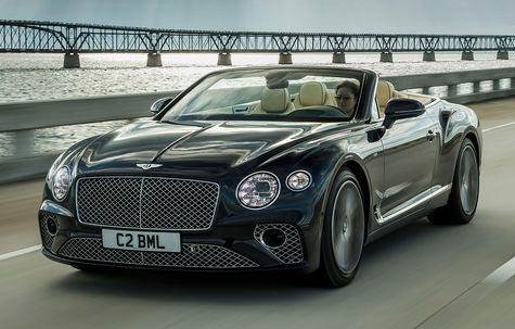 Bentley Continental GT V8 Cabrio