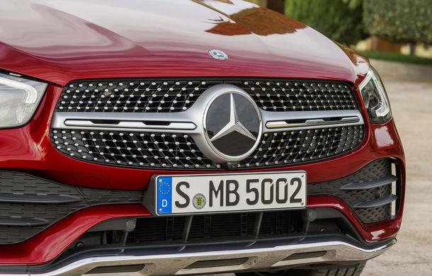 Mercedes-Benz GLC Coupe facelift: SUV-ul premium primește modificări estetice minore și o gamă nouă de motoare - Poza 2