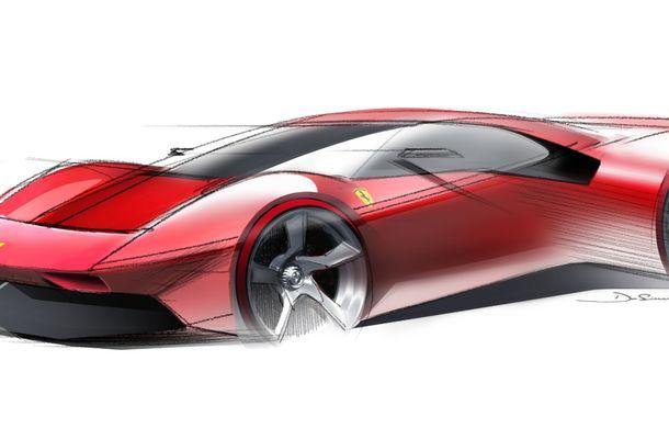 Ferrari a prezentat unicatul P80/C: modelul destinat circuitelor a fost inspirat de legendarele Ferrari 330 P3 și Dino 206 S - Poza 2