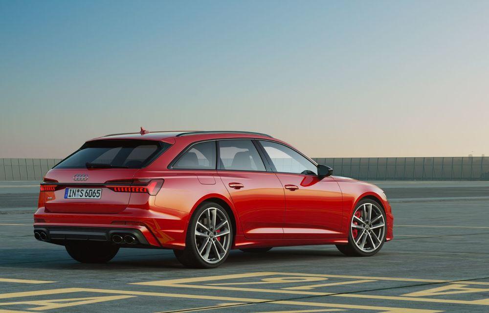Noile Audi S6 și S7: modelele de performanță preiau motorul diesel de 349 CP și tehnologia mild-hybrid de pe SQ5 - Poza 2