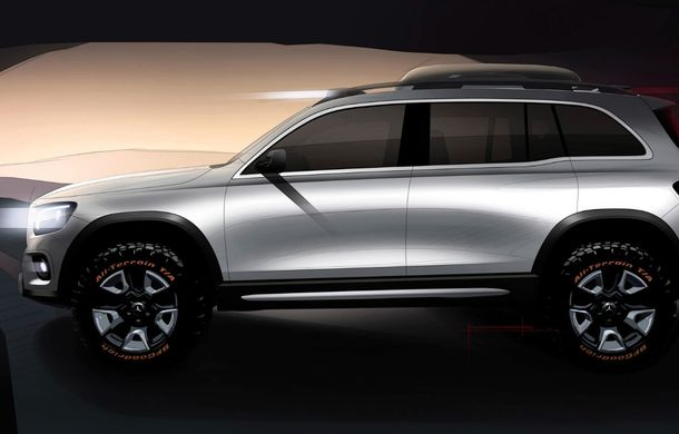 Mercedes-Benz GLB Concept: noul SUV cu 7 locuri are 224 de cai putere și va primi în curând o versiune de serie - Poza 2