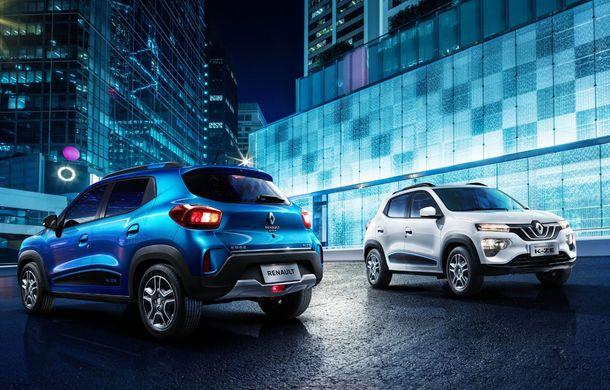 Renault a dezvăluit versiunea de serie a SUV-ului electric de oraș K-ZE: modelul se lansează în China, dar ar putea ajunge și în Europa - Poza 2