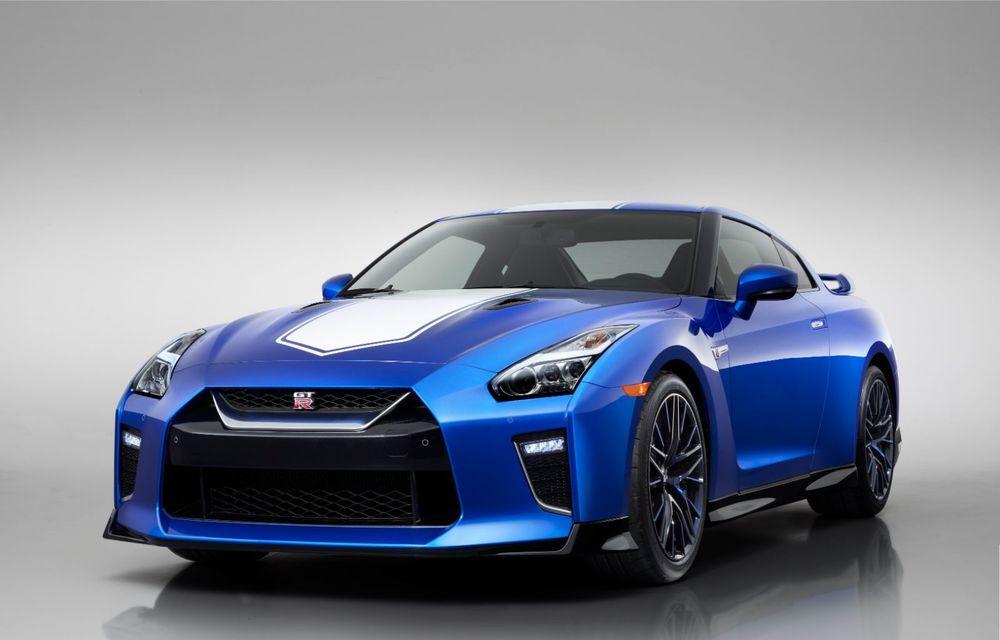 Nissan prezintă o ediție aniversară pentru modelul GT-R și un nou facelift pentru GT-R Nismo: motorul rămâne același V6 de 3.8 litri - Poza 2