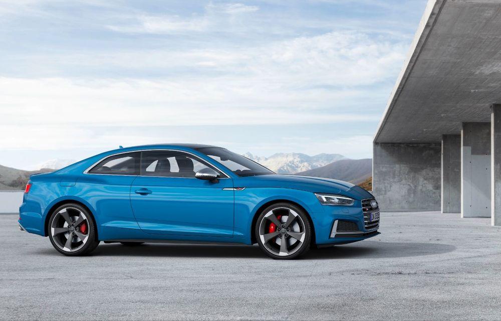 Audi S5 primește în premieră motor diesel: V6 TDI de 3.0 litri, 347 de cai putere și cuplu de 700 Nm - Poza 2