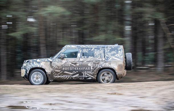 Land Rover a publicat imagini noi din timpul testelor cu viitorul Defender: prototipurile au parcurs 1.2 milioane de kilometri în condiții extreme - Poza 2