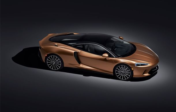 McLaren GT, poze și detalii oficiale: Grand Tourer-ul din gama britanicilor oferă 620 CP și un volum total pentru bagaje de 570 litri - Poza 2