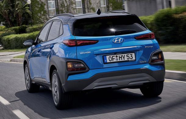 Hyundai prezintă Kona Hybrid: SUV-ul primește un hibrid clasic de 141 de cai putere împrumutat de la Kia Niro - Poza 2