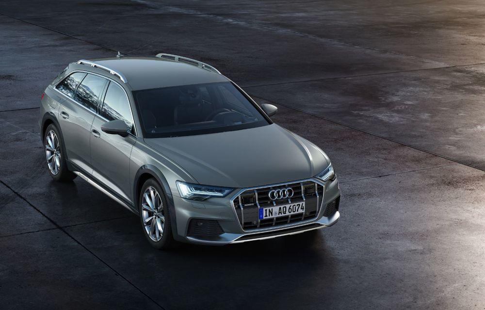 Audi prezintă noul A6 Allroad: protecții suplimentare pentru caroserie, o gardă la sol mai generoasă și motoare diesel de până la 349 CP - Poza 2