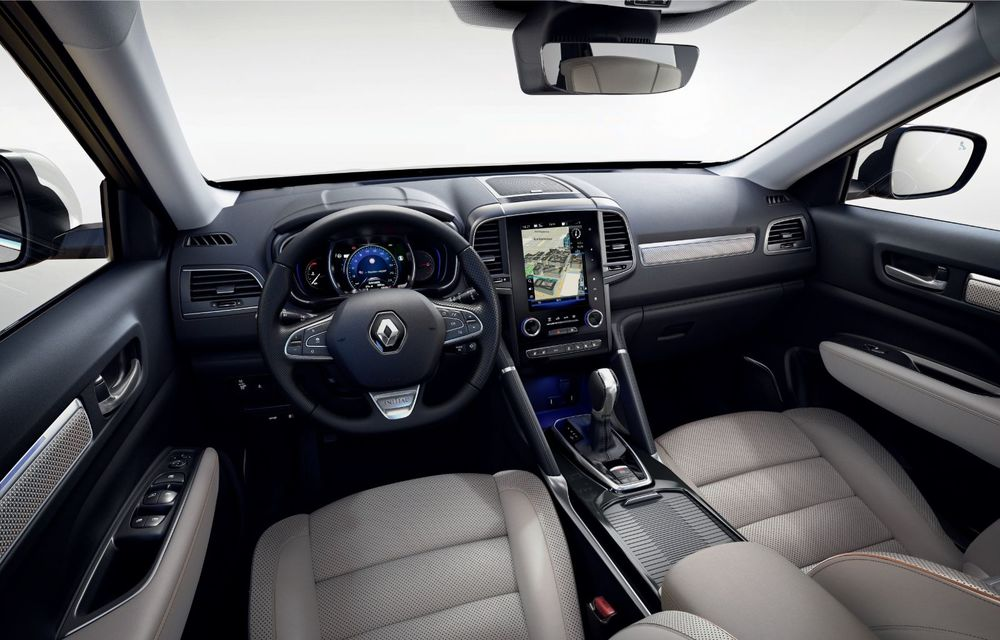 Renault Koleos facelift, poze și detalii oficiale: modificări estetice minore și două motoare diesel noi - Poza 2