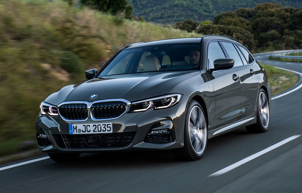 Noua generație BMW Seria 3 Touring: break-ul primește în premieră versiune plug-in hybrid de 252 CP și un portbagaj de 500 de litri - Poza 2