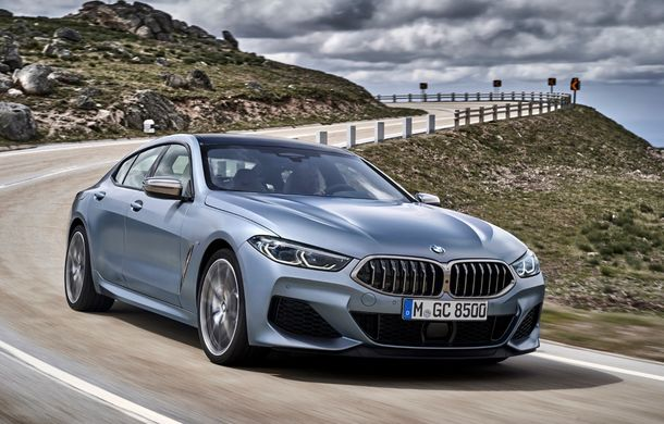 BMW Seria 8 Gran Coupe: versiunea cu patru uși oferă mai mult spațiu pentru pasageri și preia designul și motorizările lui Seria 8 Coupe - Poza 2