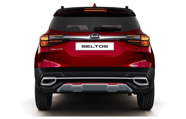 Primele imagini și informații despre Kia Seltos: noul SUV de clasa mică are faruri și stopuri LED și motoare diesel și pe benzină de până la 177 CP - Poza 2