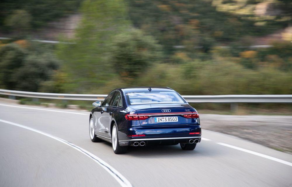 Audi S8 poate fi comandat și în România: vârful de gamă al nemților are un preț de pornire de peste 134.000 de euro - Poza 2