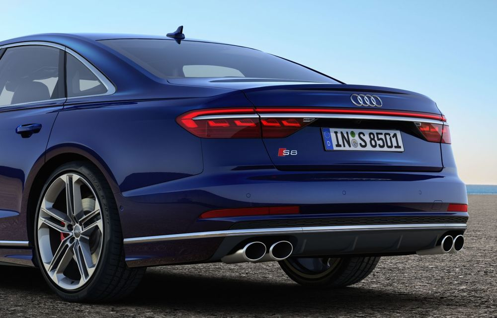 Informații suplimentare despre noul Audi S8: 571 de cai putere și accelerație de la 0 la 100 km/h în 3.8 secunde - Poza 2