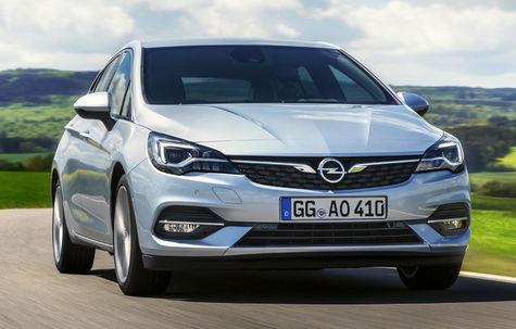 Opel Astra facelift