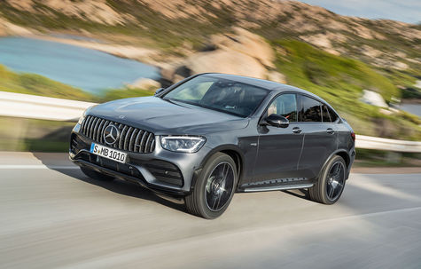 Mercedes-Benz Mercedes-AMG GLC 43 4Matic Coupe facelift