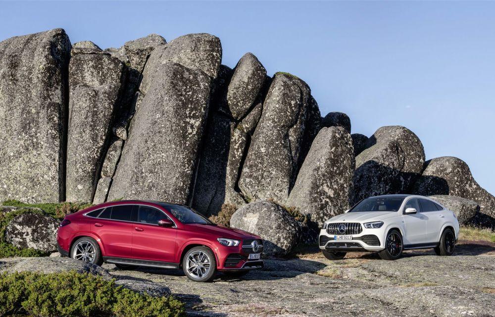 Mercedes-Benz a prezentat noul GLE Coupe: design îmbunătățit, un interior modern și versiune AMG cu 435 CP - Poza 2