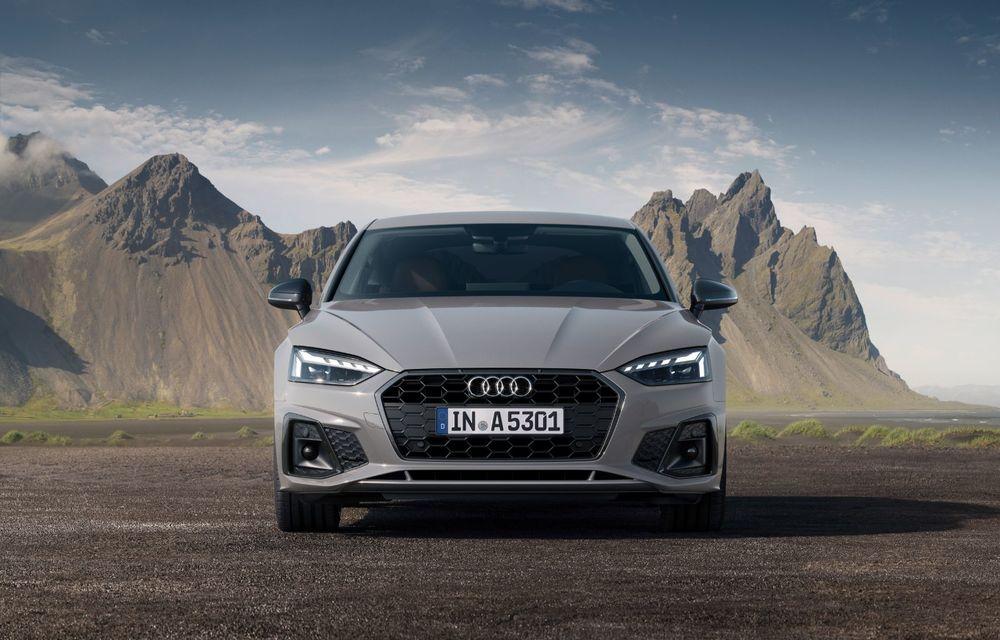 Îmbunătățiri pentru gama Audi A5: mici modificări de design, motorizări mild-hybrid și versiune S5 TDI cu 347 CP - Poza 2