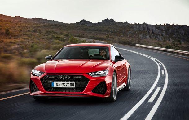 Audi RS7 Sportback este disponibil și în România: modelul de performanță cu 600 CP are un preț de pornire de aproape 125.000 de euro - Poza 2