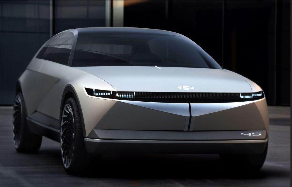 Hyundai prezintă conceptul 45: prototipul anunță direcția de design pentru viitoarele modele electrice ale constructorului - Poza 2