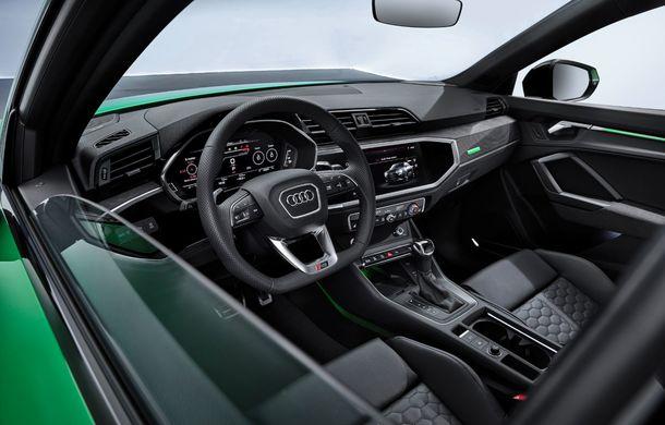 Audi RS Q3 Sportback este disponibil și în România: SUV-ul de performanță cu 400 CP pornește de la peste 65.000 de euro - Poza 2