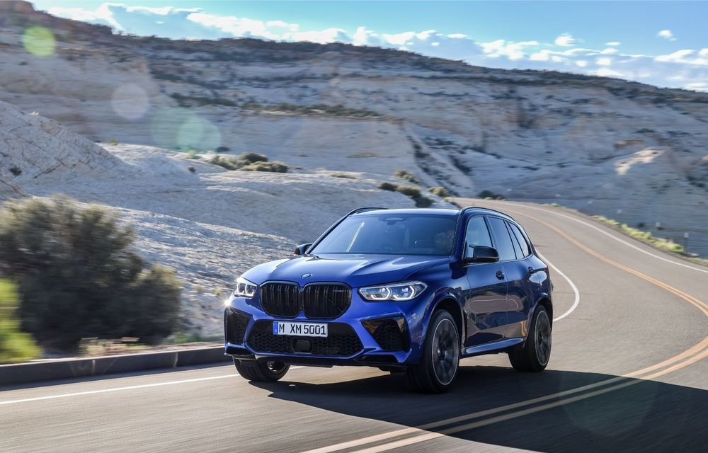 BMW a prezentat noile X5 M și X6 M: tracțiune integrală M xDrive și versiune Competition cu 625 CP - Poza 2