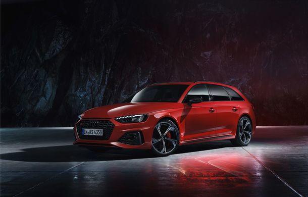 Audi prezintă RS4 Avant facelift: mici modificări ale părții frontale și motor V6 biturbo de 2.9 litri care dezvoltă 450 CP și 600 Nm - Poza 2