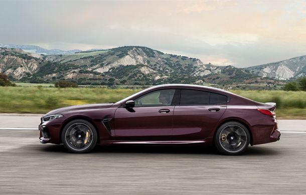 Primele imagini și detalii despre BMW M8 Gran Coupe: tracțiune integrală și motor de 4.4 litri și 625 de cai putere pentru versiunea Competition - Poza 2