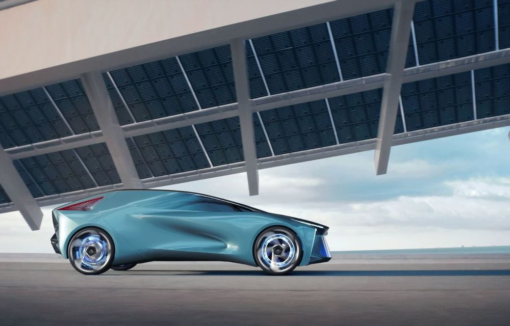 Conceptul LF-30 anunță primul model electric în gama Lexus: autonomie de până la 500 de kilometri și 4 motoare electrice ce dezvoltă un total de 540 CP - Poza 2
