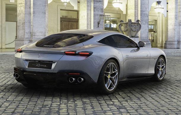 Ferrari prezintă noul coupe Roma: motor turbo V8 de 3.9 litri și 620 de cai putere - Poza 2