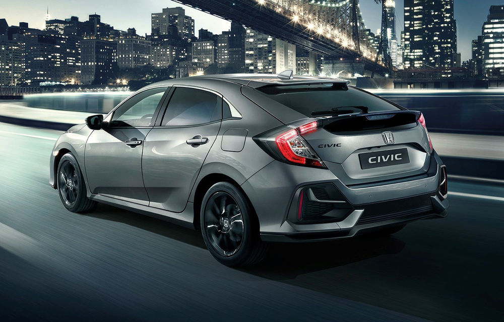Honda Civic primește un facelift discret: modificări minore de design și aceeași gamă de motoare - Poza 2