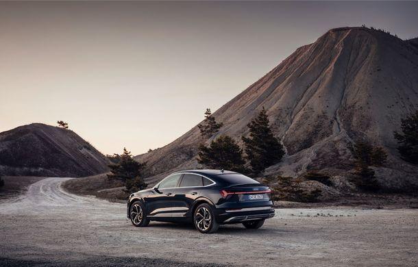 Prețuri pentru noul Audi e-tron Sportback: SUV-ul coupe pornește de la aproape 73.000 de euro - Poza 2