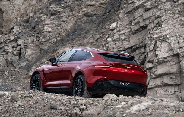 Aston Martin DBX este aici: primul SUV al constructorului britanic are motor V8 de 4.0 litri și 550 de cai putere și costă aproape 200.000 de euro - Poza 2