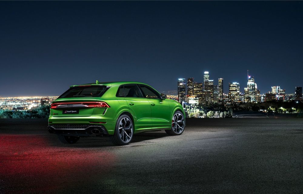 Audi a prezentat noul RS Q8: cel mai rapid SUV de serie de la Nurburgring are 600 CP și accelerează de la 0 la 100 km/h în 3.8 secunde - Poza 2