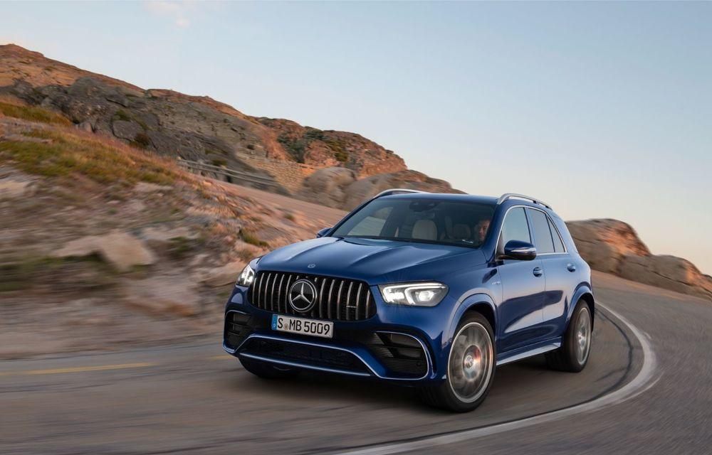 Mercedes-AMG prezintă GLE 63 și GLE 63 S: motor V8 biturbo de 4.0 litri în versiuni de 571 CP și 612 CP - Poza 2