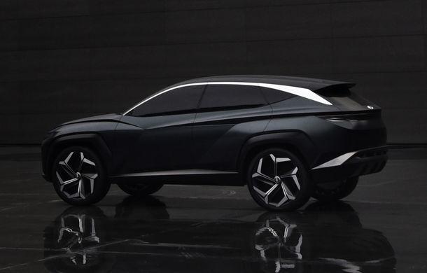 Hyundai a dezvăluit Vision T Concept: SUV-ul plug-in hybrid anticipează designul viitoarelor modele ale constructorului - Poza 2