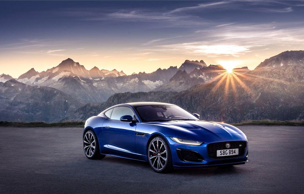 Îmbunătățiri pentru Jaguar F-Type: design modificat, instrumentar digital de bord și un V8 nou cu 450 CP - Poza 2